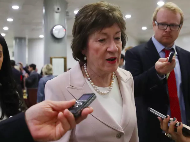 Senator Susan Collins Is Getting a Ton of Coat Hangers at Her Office Right Now