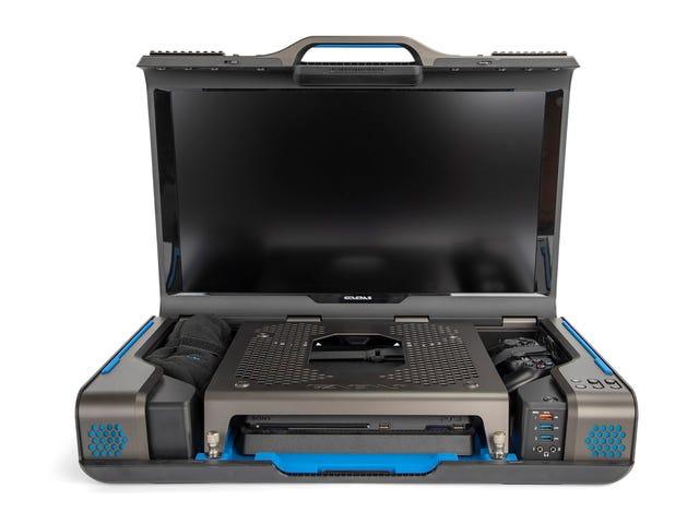 Denne kuffert gør din PS4 eller Xbox One til en bærbar konsol