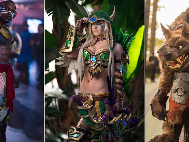 The Best Cosplay From BlizzCon 2017