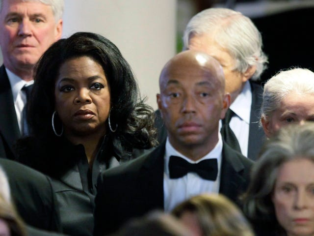 It's Over for Russell Simmons; Oprah Has Excommunicated Him