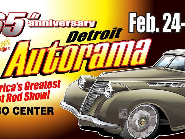 Detroit Autorama mañana / viernes