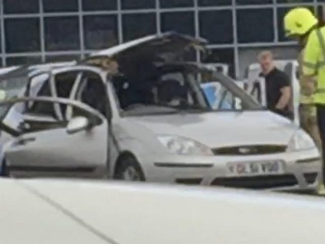 Car Explodes Because Of, Uh, Air Freshener