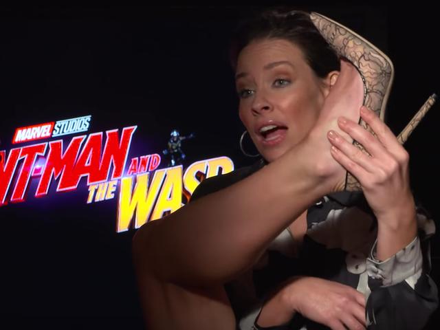 Warum beschweren sich die Männer von Marvel über ihre Kostüme?  Evangeline Lilly hat eine Theorie ...