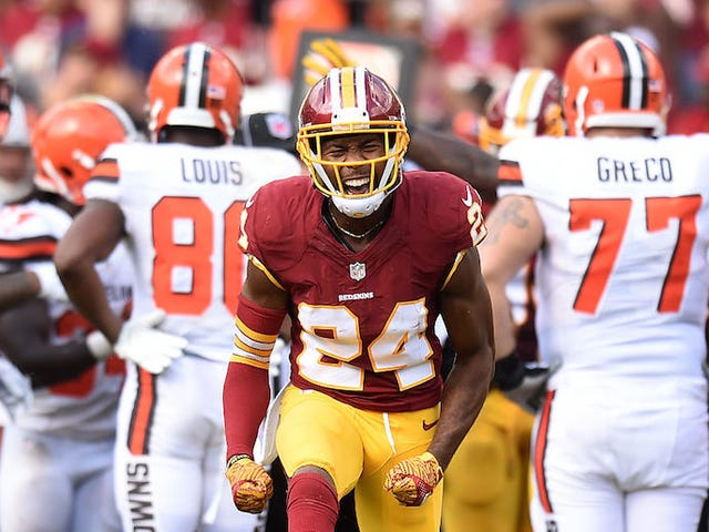 Josh Norman Challenges The NFL To Flag His Beer-Themed Celebration