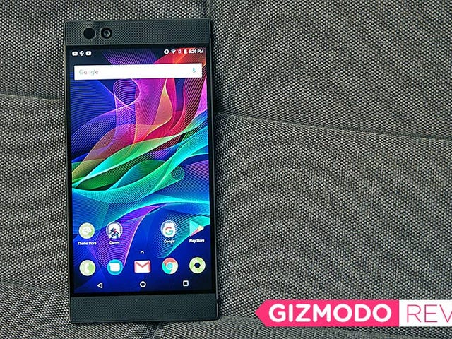 Razer's Powerhouse Phone for Gamers Is Delightfully Different