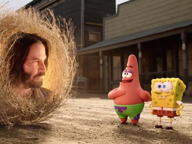 Keanu Reeves es un sabio llamado Sage en el trailer de The SpongeBob Movie: Sponge On The Run