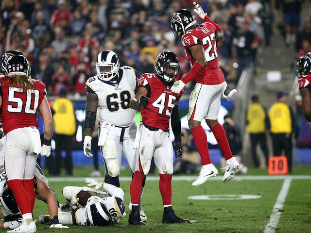The Falcons' Defense Is Finding Itself At Just The Right Time