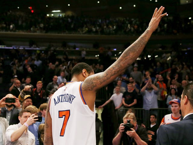 Reports: The Knicks Have Agreed To Trade Carmelo Anthony To The Oklahoma City Thunder