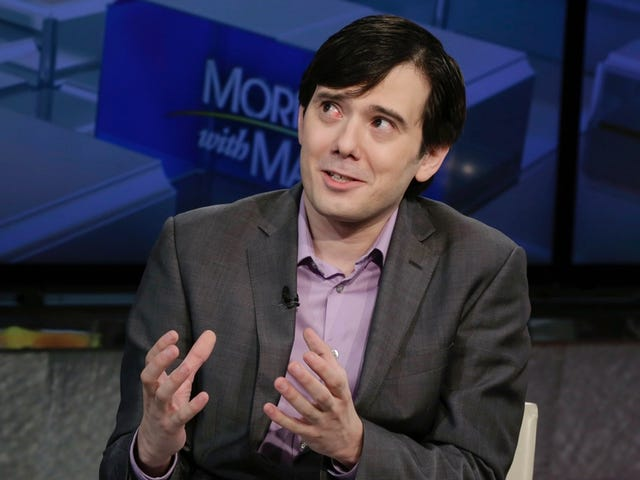 Sobbing Martin Shkreli Sentenced to 7 Years in Prison for Securities Fraud and Being an Asshole