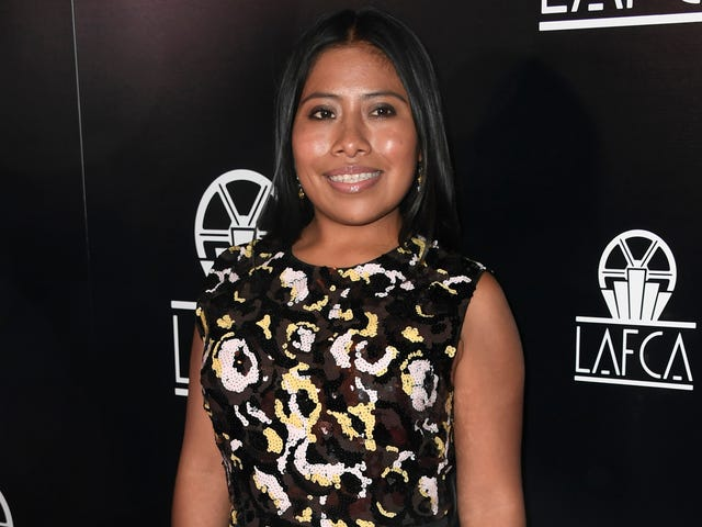 Yalitza Aparicio Says She Doesn't Get Recognized in Public, But She Totally Does