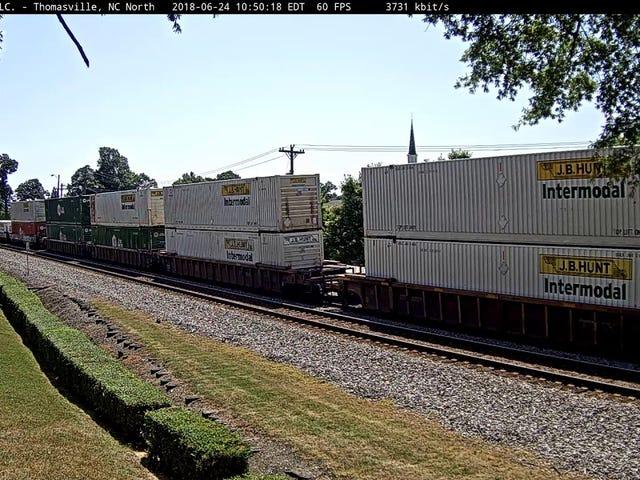 Train vs. Van (SPOILERS: Van looses)