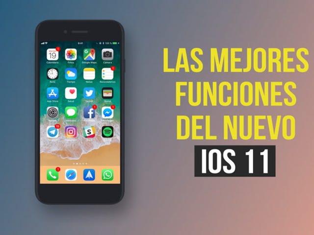 Las mejores funciones de iOS 11