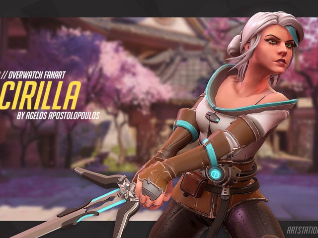If The Witcher 3's Ciri Was In Overwatch...
