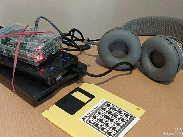 If You Hate Your Ears, Then Why Not Build a Portable Floppy Disk Walkman?