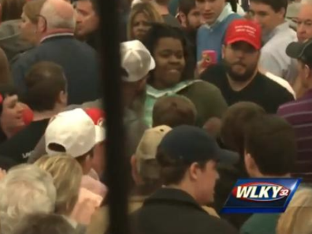 Trump Watch: Young Black Woman Assaulted op Ky. Rally