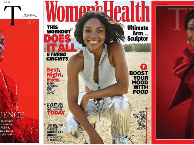 Phenomenal Women: Generations of Black Beauty Grace februari och mars Magazine Covers