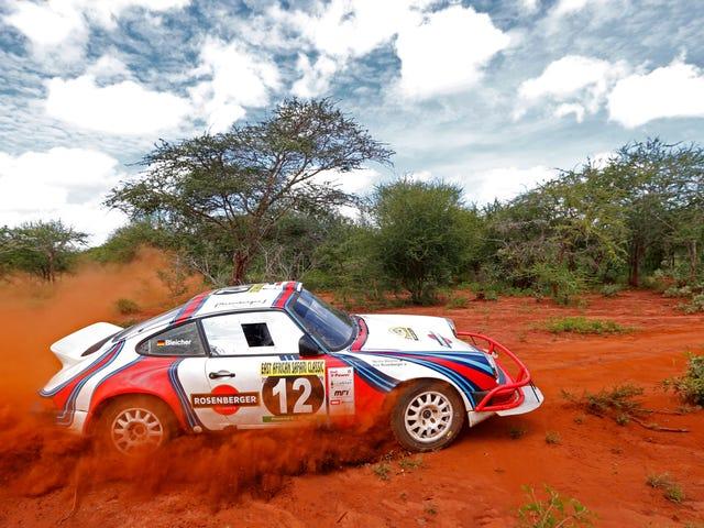 Itä-Afrikkalainen Safari Classic -ralli näyttää hauskalta kuin helvetti