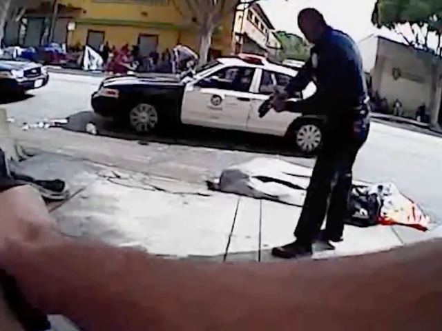 LAPD Releases Video of Cops Shooting Unarmed Homeless Man After Keeping It Secret for Years