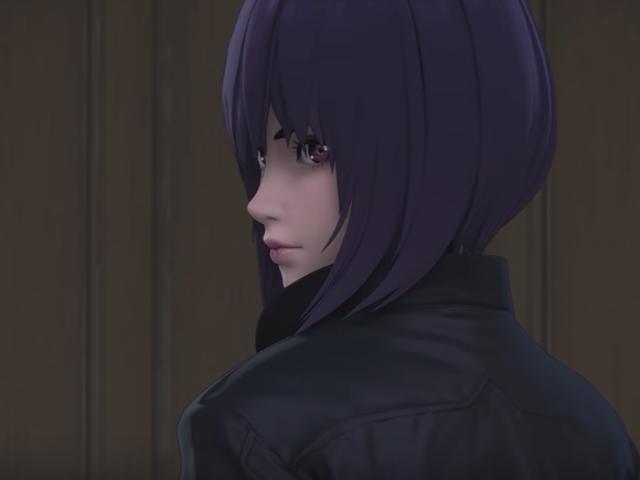 Et bedre kig på det nye spøgelse i Shell 3D-anime