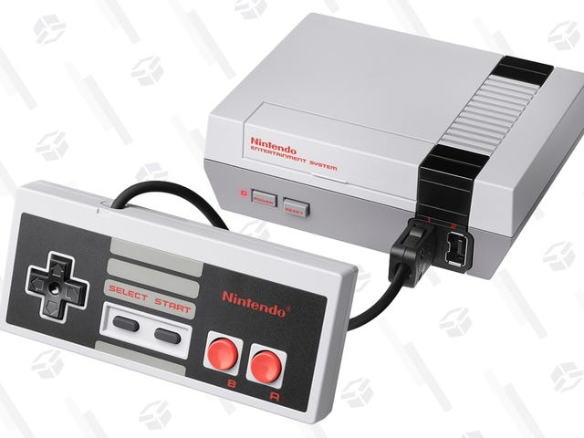 Nintendo's Blowing Out Refurbished NES Classics For $50 (Update: And SNES For $70!)