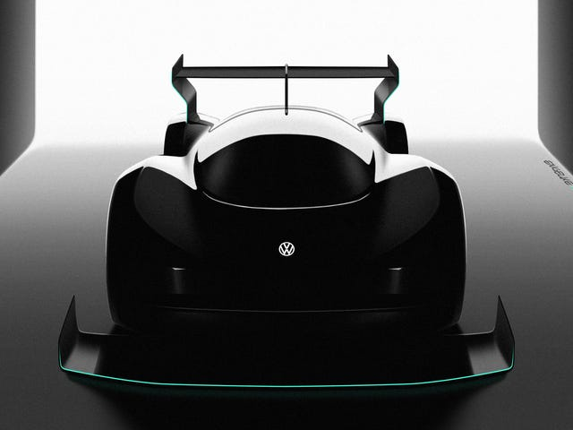Volkswagen Is Making An Electric Race Car For Pikes Peak