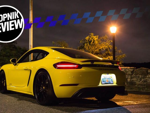 Porsche 718 Cayman GTS 2018 года, как превосходный Porsche