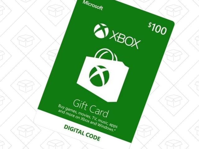 Add $100 To Your Xbox Live Wallet For $85