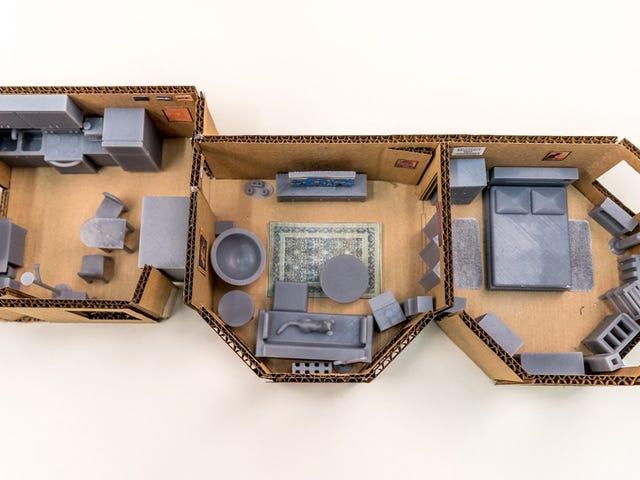 Làm thế nào tôi sử dụng in 3D để thiết kế căn hộ tương lai của tôi