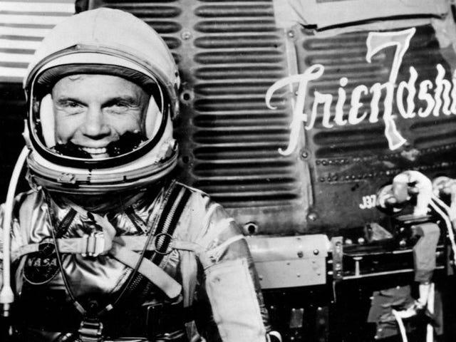 American Space Legend John Glenn on kuollut 95: ssä