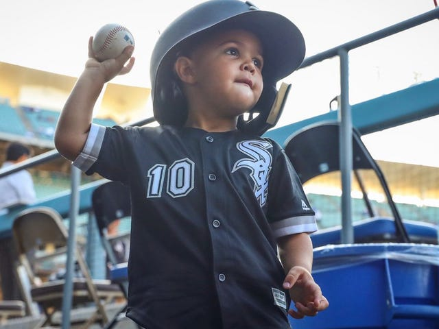 Robinson Moncada, A Precious Little Beam Of Human Sunshine, Is King Of The Sports Babies