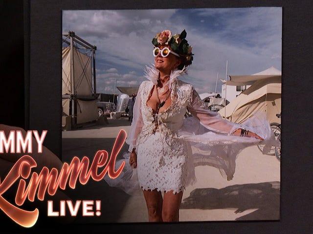 Susan Sarandon Tekee Burning Man Soundin viehättäväksi kuin vain Susan Sarandon Can