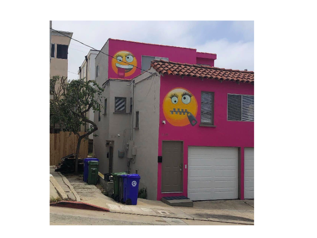 I'm Reluctantly Inspired By This Hellacious, Truly Petty Pink Emoji Revenge House