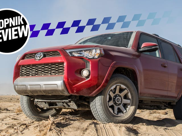 The 2018 Toyota 4Runner Is Almost The Ultimate SUV