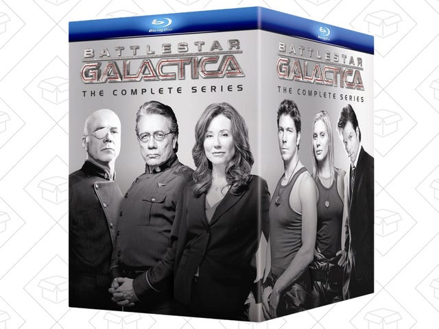 Save About $40 On the Complete Battlestar Galactica Blu-ray, Today Only
