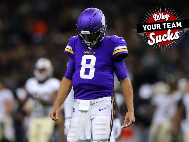 Miksi joukkueesi imee 2019: Minnesota Vikings