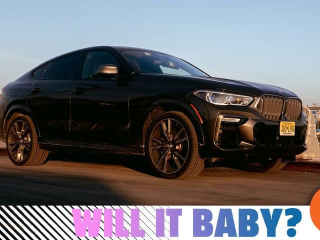 BMW X6 M50i 2020 tốt hơn khi kéo một đứa trẻ hơn bạn nghĩ