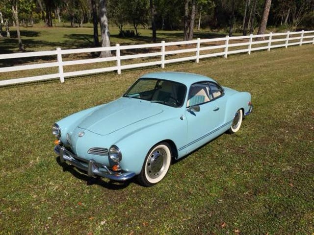 I FOUND AN AWESOME KARMANN GHIA!!