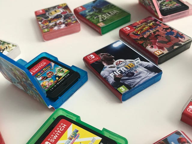 The Tiniest Lil' Nintendo Switch Game Cases