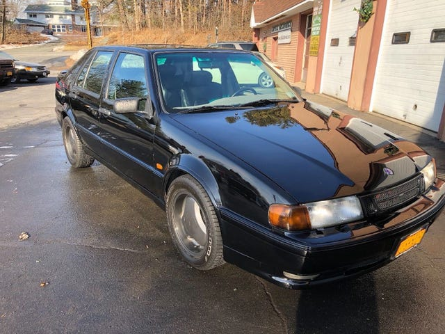 At $13,500, Could This 1997 Saab 9000 CSE 50Yr Edition Make You Want To Party Hearty?