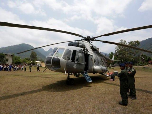 Πέντε πεζοναύτες πεθαίνουν σε συντριβή ελικόπτερο.