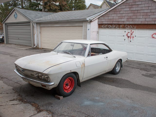 Wave goodbye to the R+C Corvair