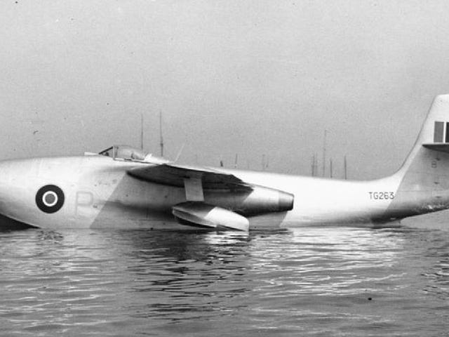 The Saunders Roe SR.A/1: The flying boat fighter [Wingspan]