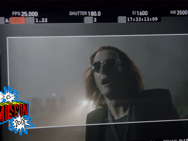 Heaven and Hell Collide in Our First Behind-the-Scenes Look at Good Omens