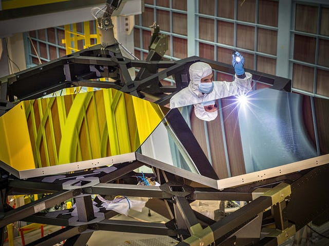 These Mirrors Are Part Of The Biggest Space Telescope