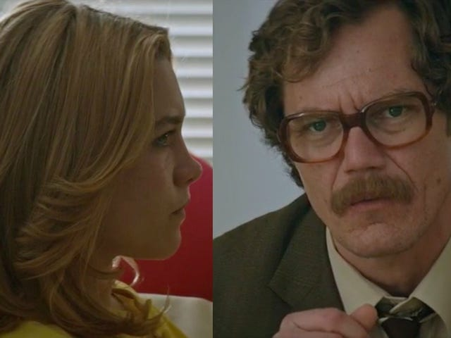 Florence Pugh and Michael Shannon face off in thisLittle Drummer Girl exclusive