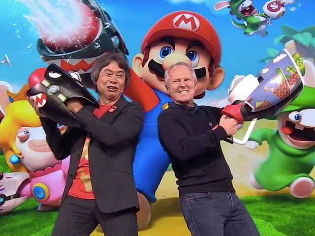 <i>Mario + Rabbids Kingdom Battle</i> er endelig officielt