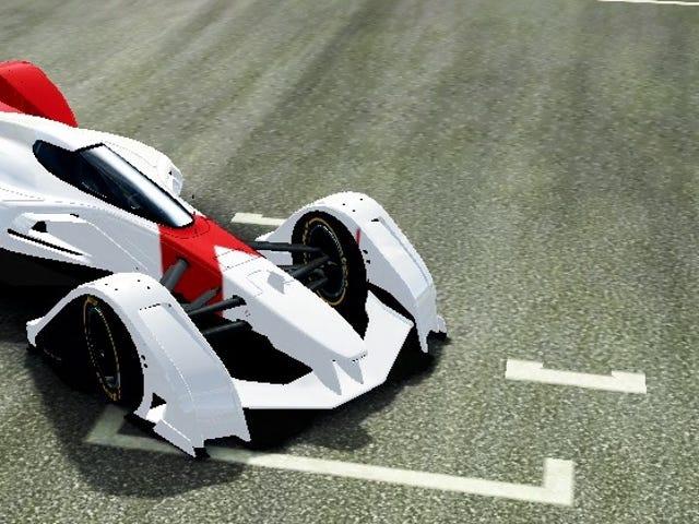 Je suis accro à la McLaren MP4-X