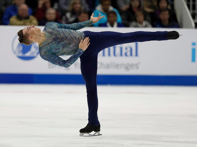 Here Is Your Daily Dose Of Adam Rippon Being Delightful