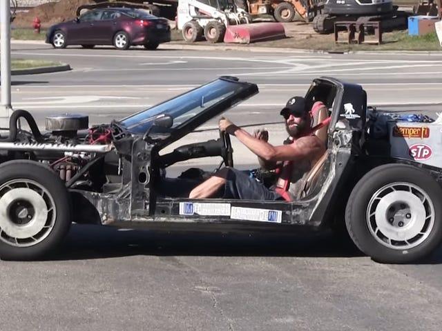Er vi på spidsen for en Corvette Rat Rod Trend?