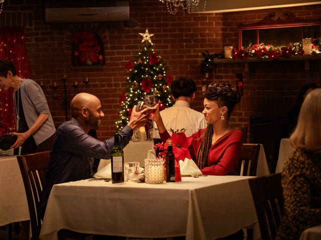 Romany Malco and Sonequa Martin-Green enter the holiday rom-com arena with Netflix's Holiday Rush